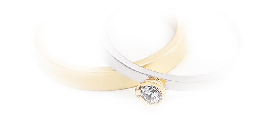 pierścionki złote